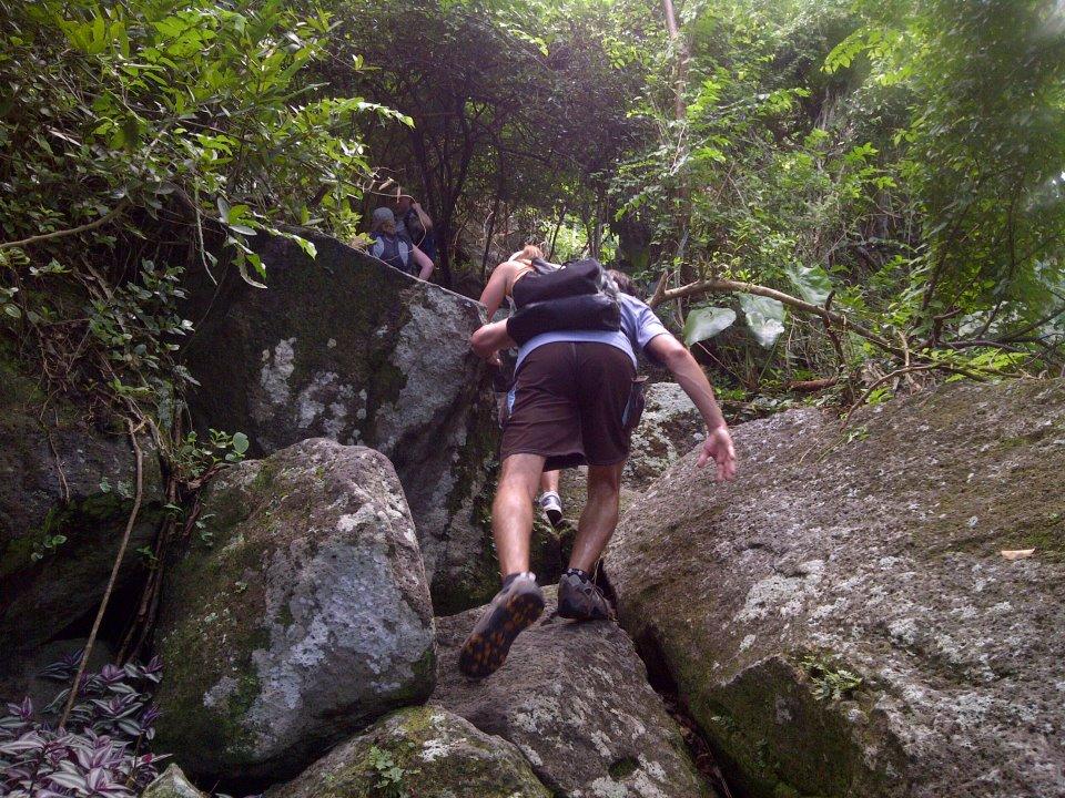 piton climbing