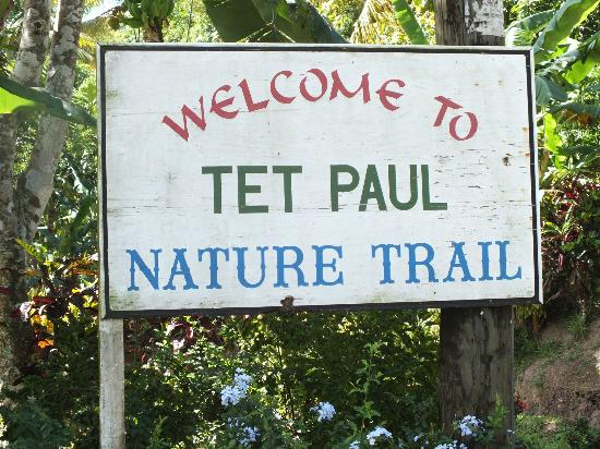 Tet Paul nature trail St Lucia
